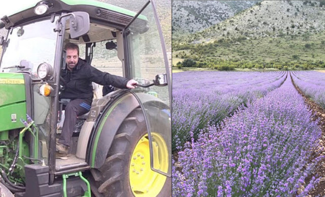 Ο καλύτερος 'Έλληνας νέος αγρότης είναι 33 ετών και καλλιεργεί αρωματικά θεραπευτικά φυτά