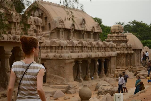 Templo de Five Rathas en Mamallapuram