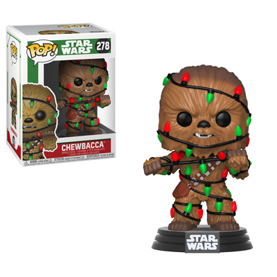 Pop! Star Wars - Holiday! chewbacca