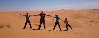En buggy por las dunas de Erg Chebbi.