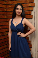 Radhika Mehrotra in a Deep neck Sleeveless Blue Dress at Mirchi Music Awards South 2017 ~  Exclusive Celebrities Galleries 031.jpg