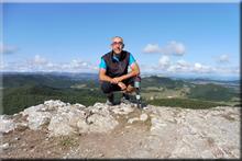 Armikelo mendiaren gailurra 888 m. -- 2017ko irailaren 1ean