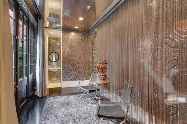 a casa incrivel de Lenny Kravitz 16 - As aparências enganam. Esta casa impressiona pelo seu interior.
