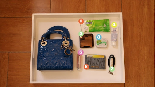 What's In My Handbag : Micro Lady Dior