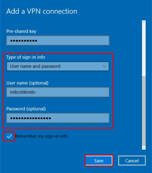 Tutorial Setting L2TP/IPsec VPN Client di Windows – Pusat Pengetahuan