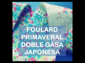 tutorial cose un foulard primaveral doble gasa japonesa La vie en DIY
