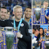 Joyous Claudio Ranieri urges Leicester City fans to keep dreaming after being crowned Premier League champions at the King Power Stadium