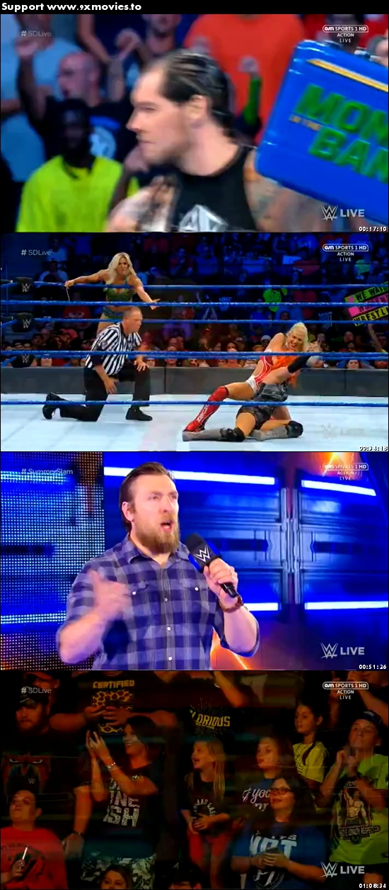WWE Smackdown Live 25 July 2017 HDTV 480p 300MB