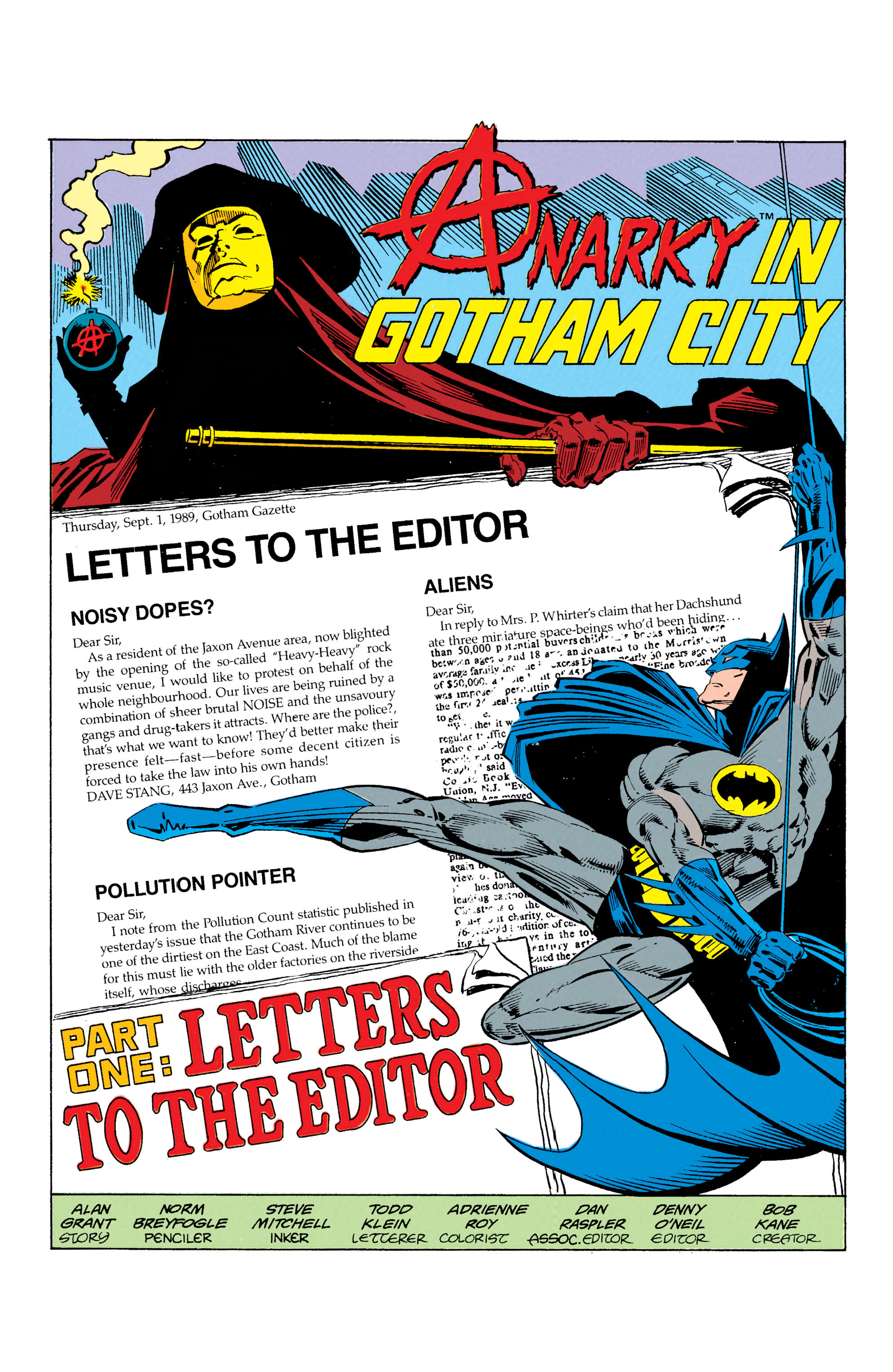 Detective Comics (1937) 608 Page 1
