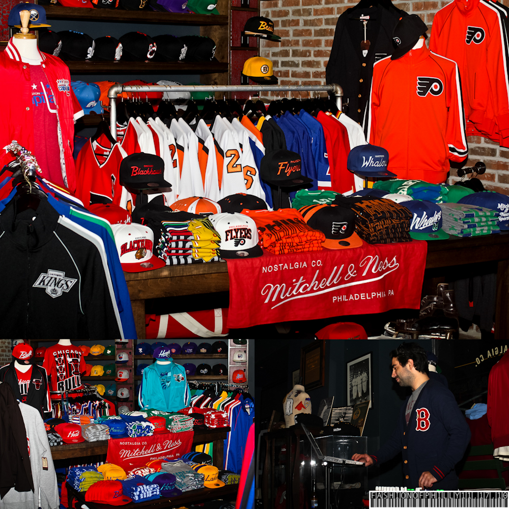 c470b836 The Mitchell & Ness Flagship Store hosted a preview party for their Fall  2011 Collection and now with the football season being back on, ...