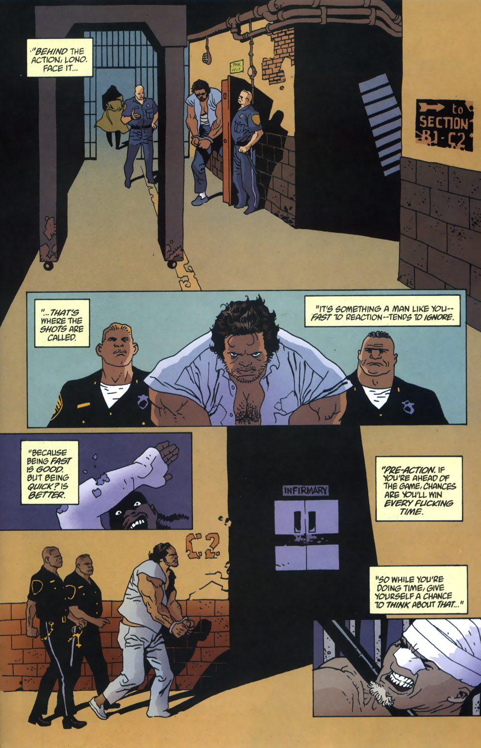 Read online 100 Bullets comic -  Issue #46 - 19