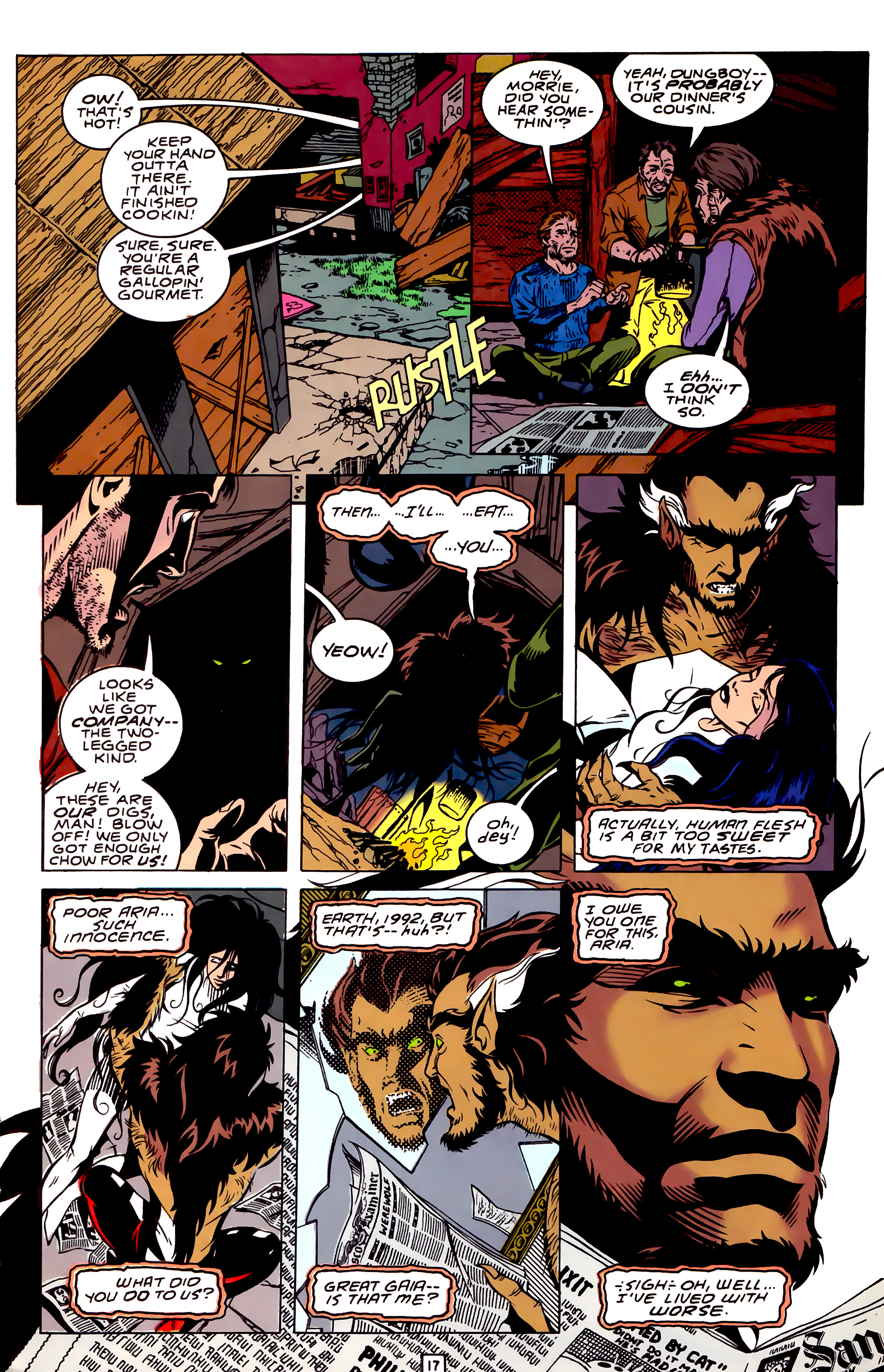 Legion of Super-Heroes (1989) _Annual_3 Page 17