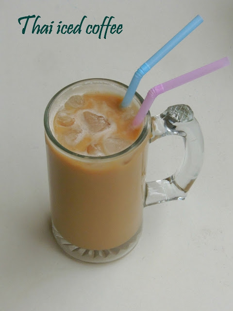 Iced COffee, Thai Iced coffee