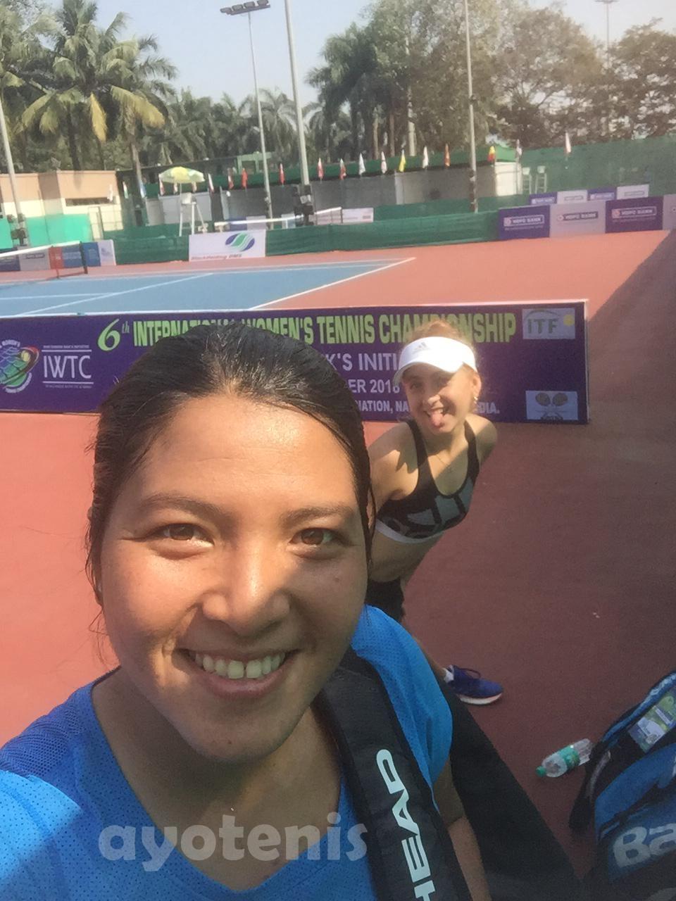 Jessy Rompies/Berfu Cengiz Kandas di Perempat Final Pingshan Open 2019