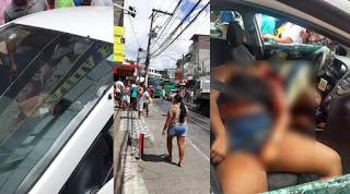 Casal executado com mais de 20 tiros dentro de carro em São Marcos