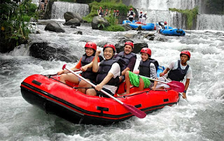 All About Bali Fun to enjoy rafting the River
