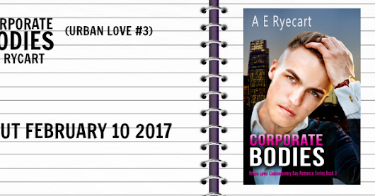 Corporate Bodies by A E Ryecart - Release Blitz