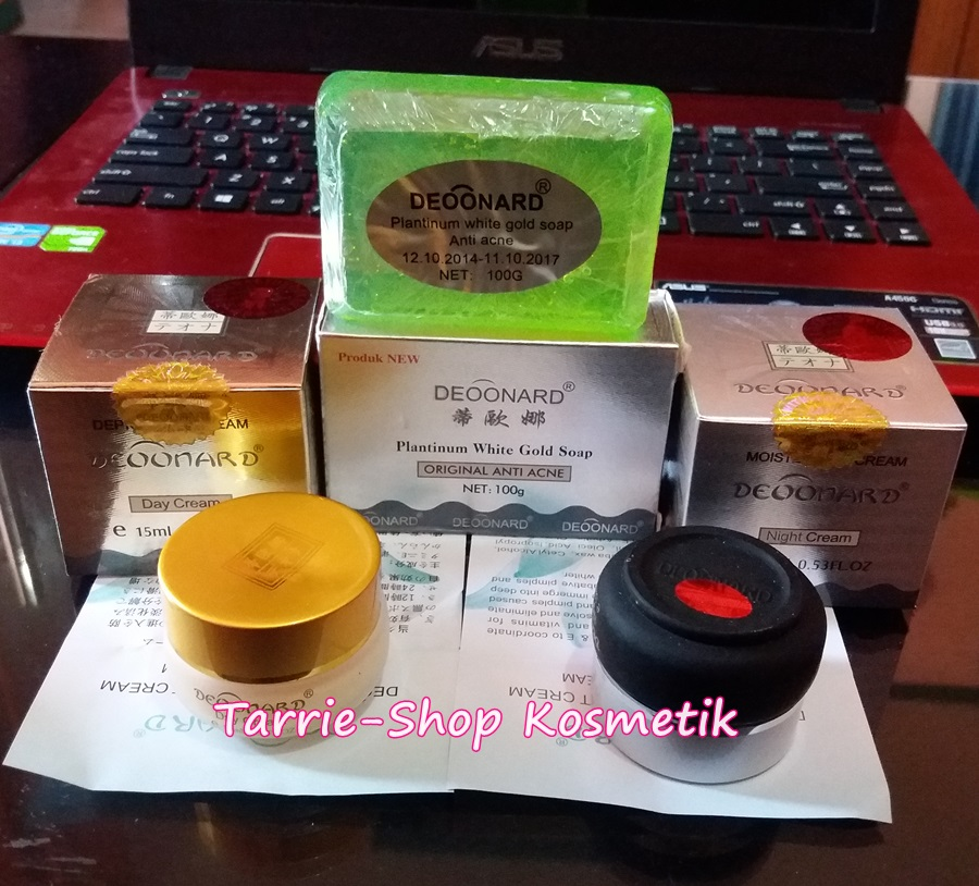 Paket Cream Deoonard Gold Silver Soap ACNE