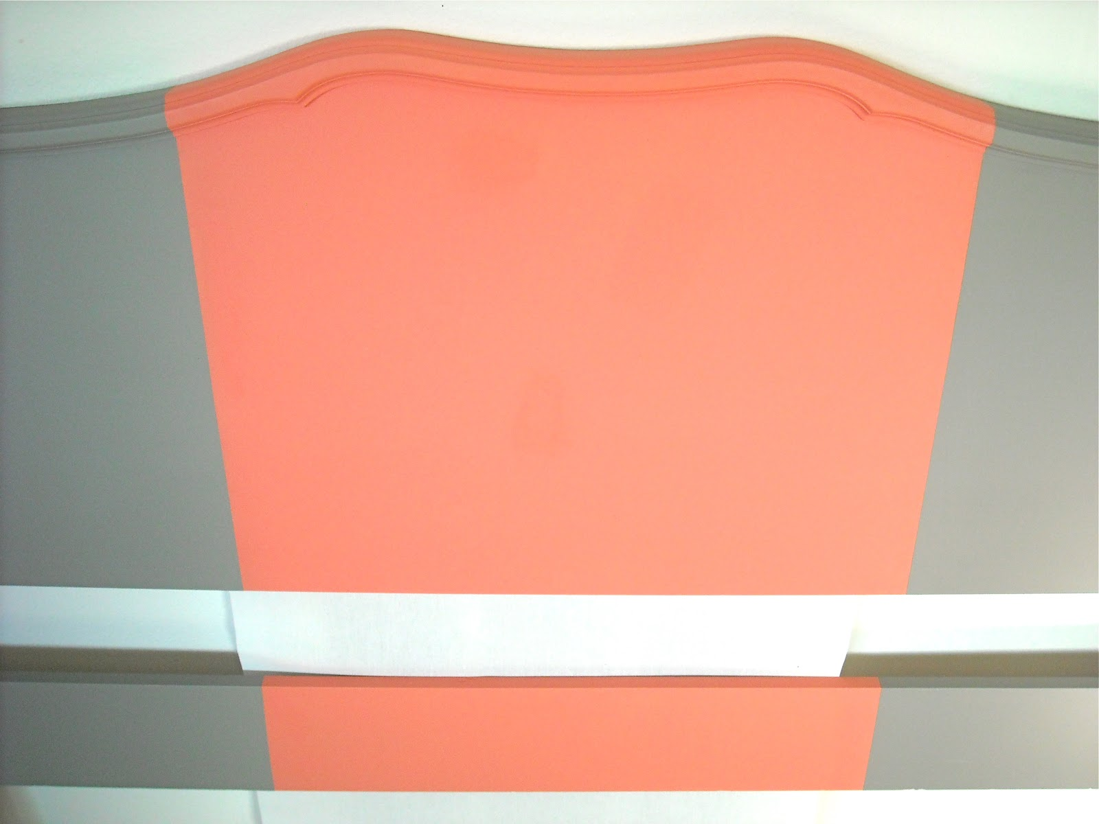 the maison studios coral striped headboard. Black Bedroom Furniture Sets. Home Design Ideas