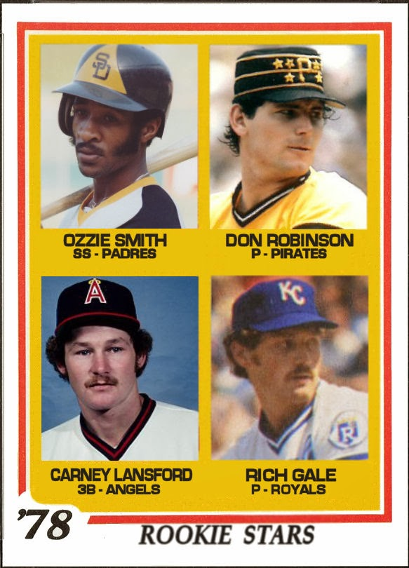 Cards That Never Were 1978 Topps Rookie Stars