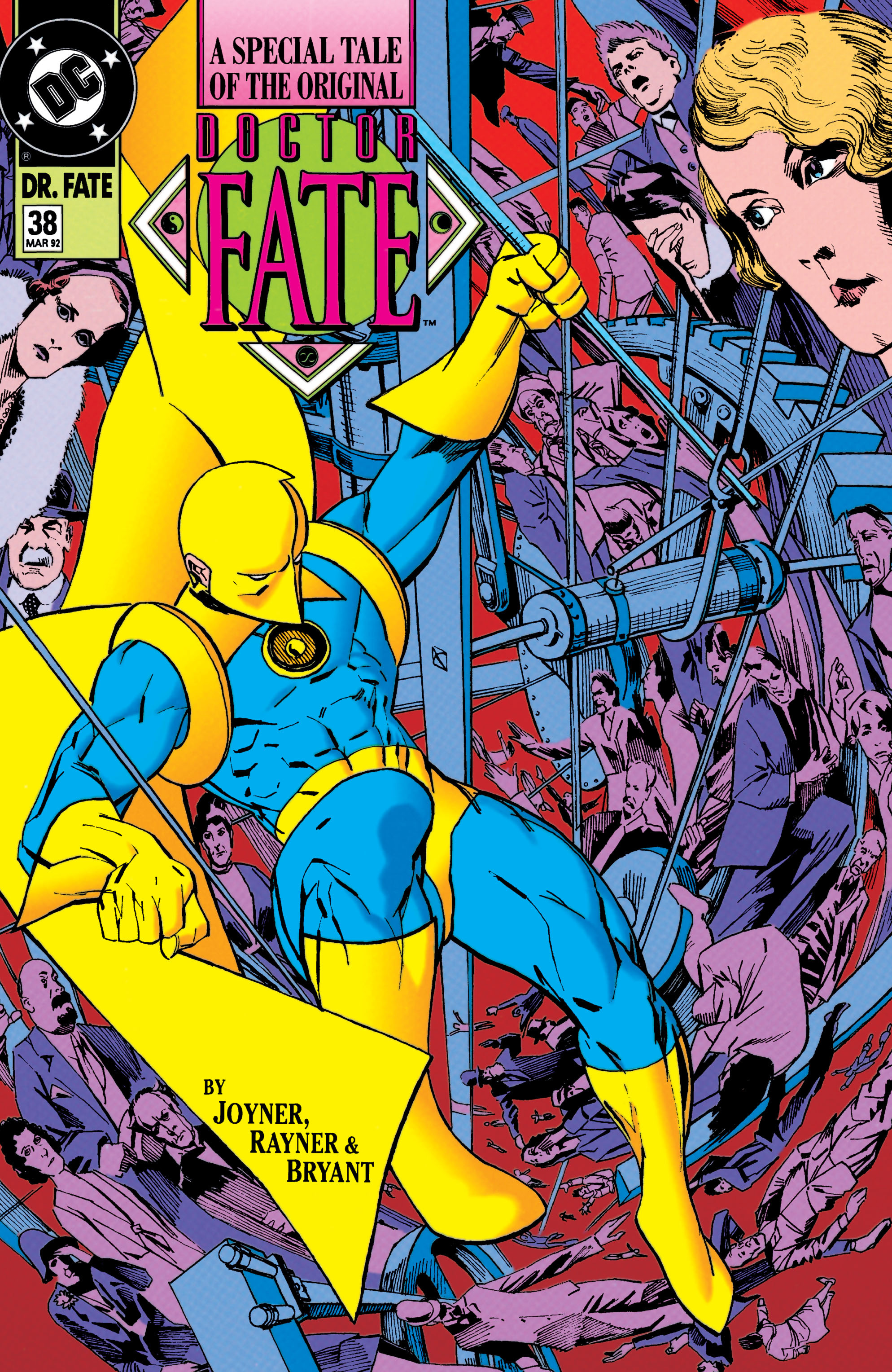 Doctor Fate (1988) 38 Page 1