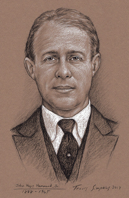 John Hays Hammond, Jr. (1888-1965). Hammond Castle. Gloucester, MA. by Travis Simpkins