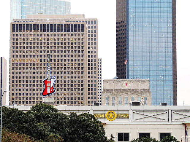 BAYOU PLACE, CITY HALL, AND OFFICE TOWERS