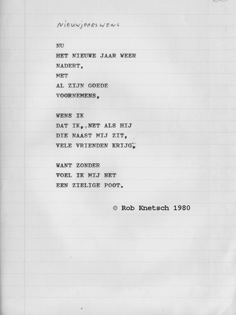 Of Turmoil And Quest Gedicht Nieuwjaarswens Door Rob Knetsch