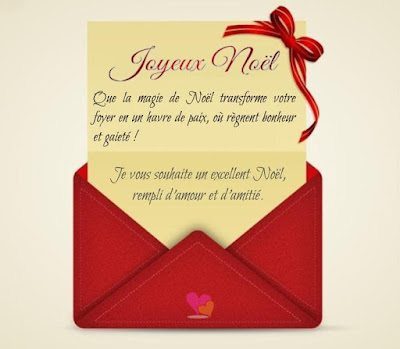 Modèle de lettre pour souhaiter un joyeux noël à ses proches