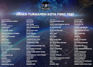 Turnamen Regional PBNC 2017 Segera Digelar, 60 Tim Terbaik Akan Bertanding Hingga Oktober 2017
