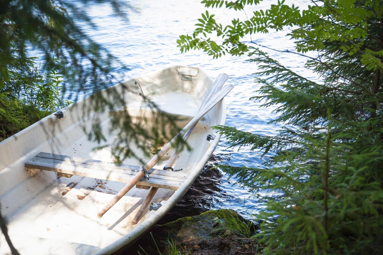 vene kesä pyhäjärvi