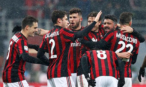 AC Milan từng ở đỉnh cao bóng đá châu Âu.