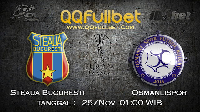 PREDIKSIBOLA - Prediksi Taruhan Bola Steaua Bucuresti vs Osmanlıspor 25 November 2016 (UEFA Europa League)