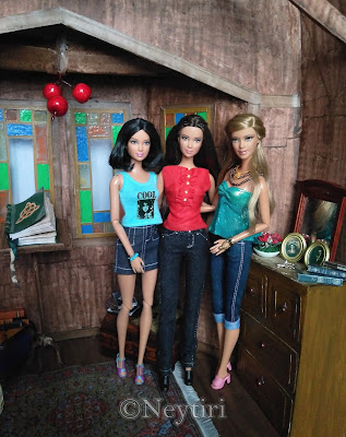 charmed barbie dolls