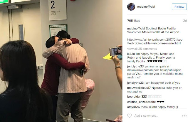 Robin Padilla Finally Reunited With His Wife And Daughter! You Have To See This!