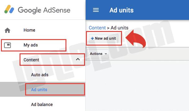 Bagaimana Membuat Ad Units Baru di Google AdSense