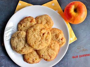 Cookies aux pommes caramélisées