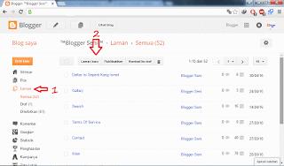Cara Memasang Daftar Isi Ala Blog Kang Ismet