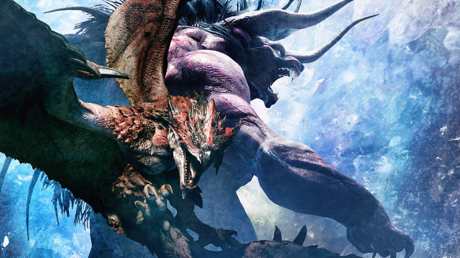 monster hunter world x final fantasy xiv rathalos