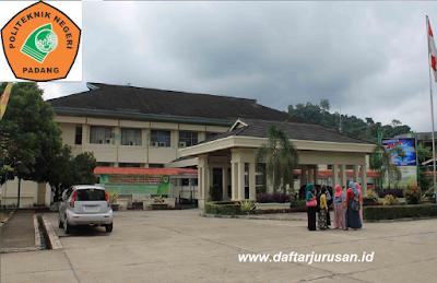 Daftar Program Studi / Jurusan PNP Politeknik Negeri Padang