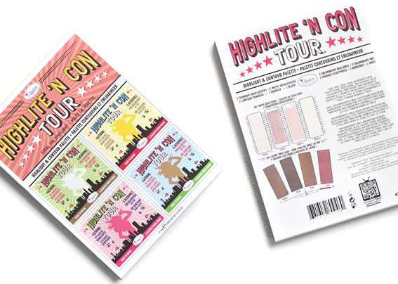 TheBalm Highlite N Contour Palette Review Photos