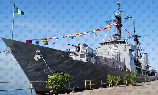 See How Nigeria Acquired New Warship Departs China For Lagos
