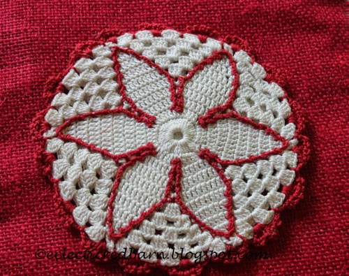 Eclectic Red Barn:Vintage doilies