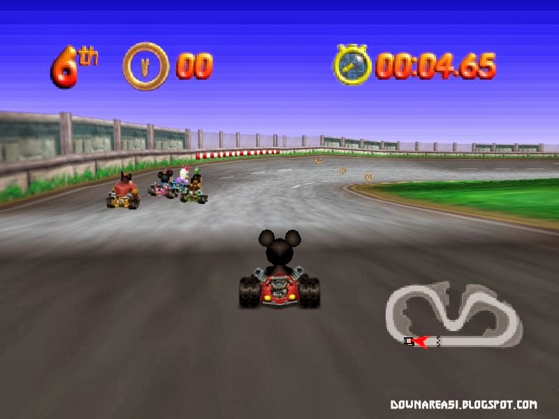 Mickey's Speedway Nintendo 64
