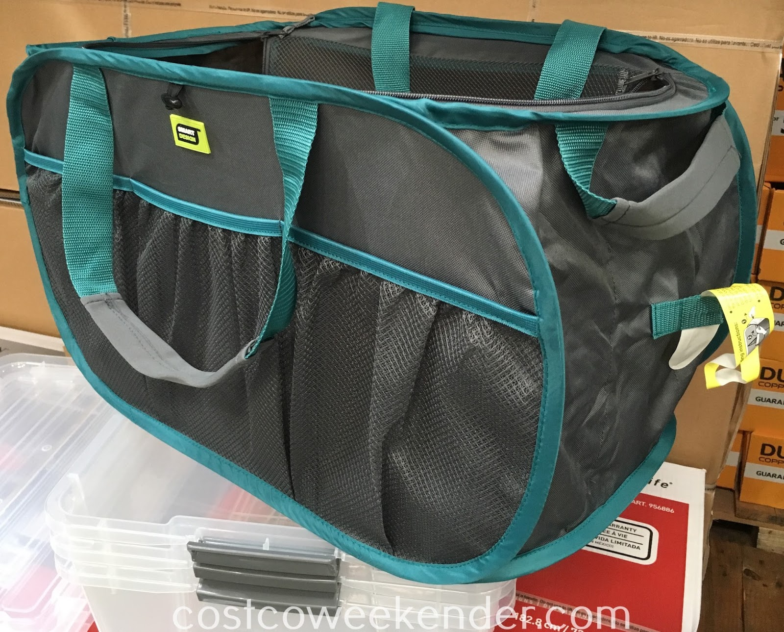 Get organized with the Smart Design Pop-Up Organizer Tote
