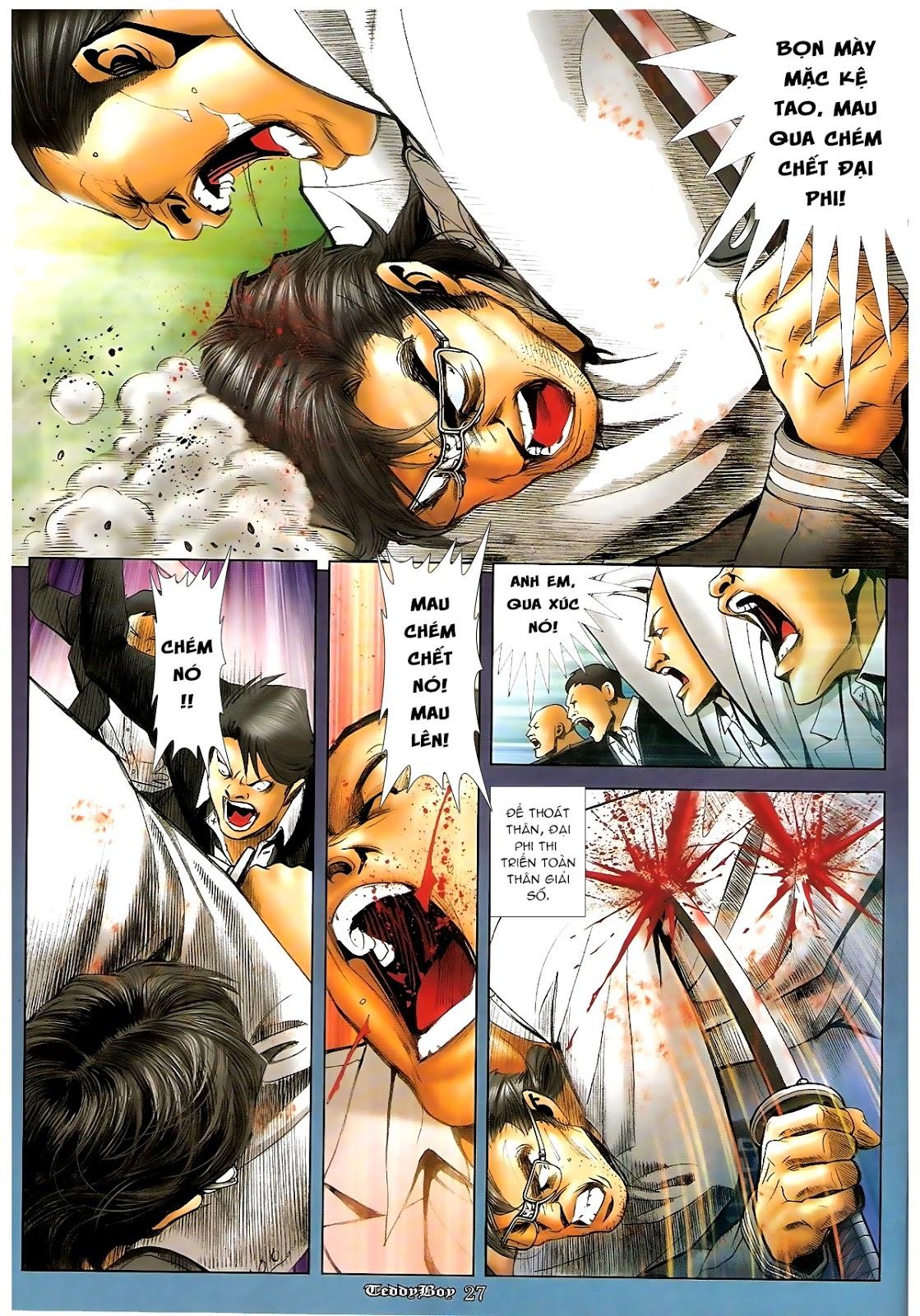 Người Trong Giang Hồ - Chapter 1220: Người đầu tiên lên đường - Pic 21