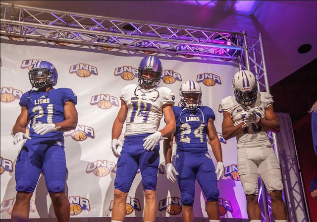 north alabama una adidas uniform white helmet 2017
