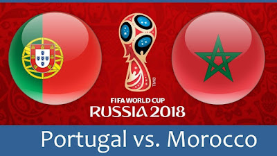Live Streaming Portugal vs Morocco Piala Dunia 20.6.2018