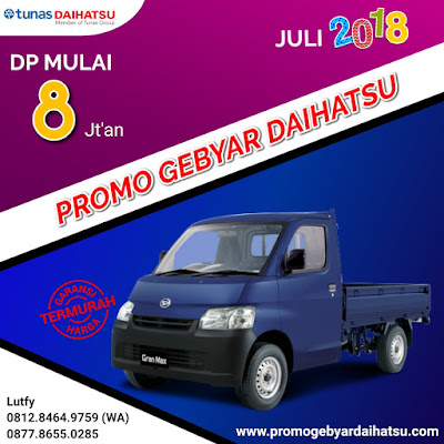 Promo Kredit Pick Up Dp murah Juli 2018