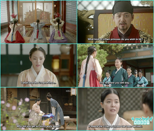 crown prince now ready to be married Soo bin selected as his bride  - Love In The Moonlight - Episode 14 Review (Eng Sub) - park bo gum & kim you jung